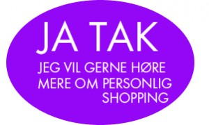Ja tak_personlig shopping